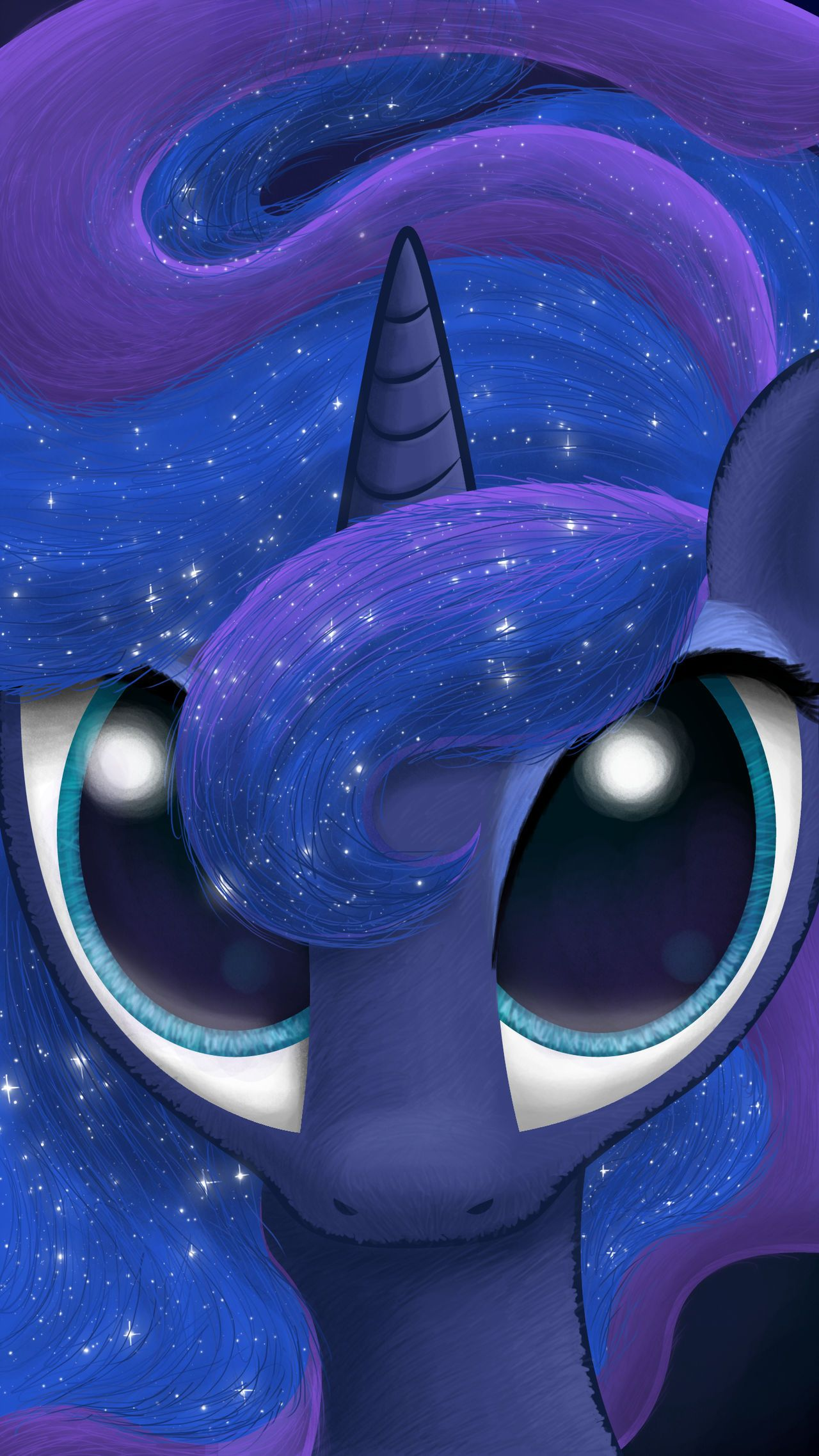 Luna Lockscreen Wallpaper By Nimaru My Little Pony Wallpaper My Little Pony Drawing My Little Pony Poster