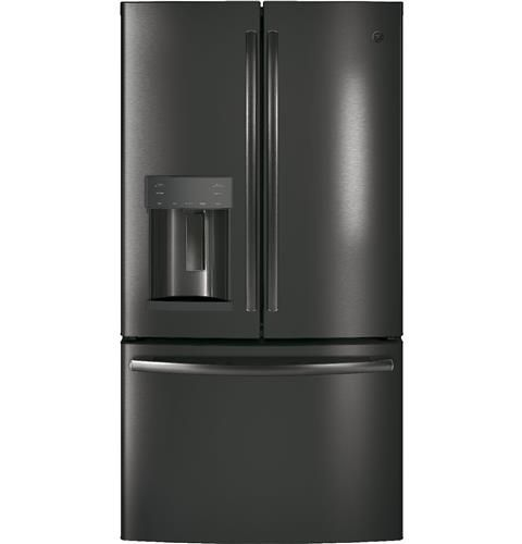 Black Stainless French Door Refrigerator French Doors