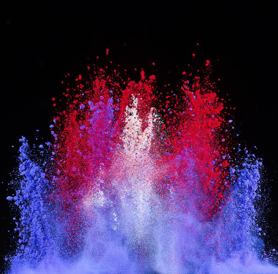 Colorful Iphone Wallpaper: Color Powder Explosion - Google Search