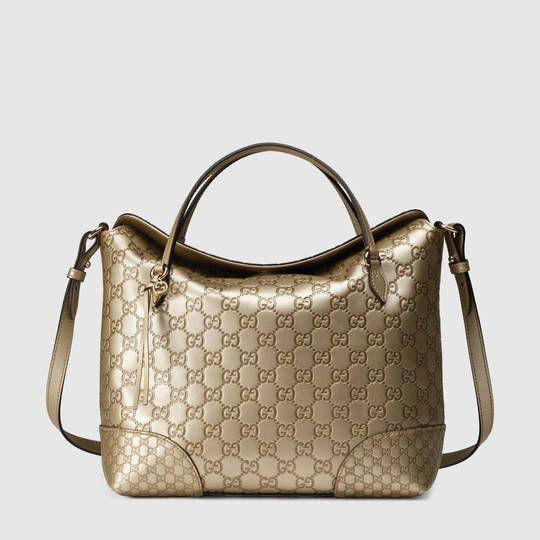 Gucci Bree Guccissima top handle bag