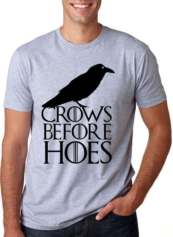 Crows Before Hoes T-Shirt (Mens)  7bfc1c97a1
