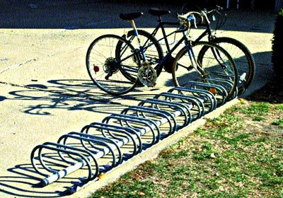 Kay Park Low Profile Bike Rack Grates Mats Bike Racks