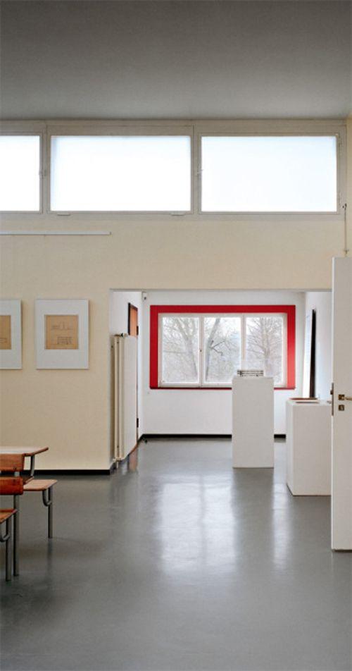 Das Haus am Horn, Weimar, 1923. Bauhaus interior