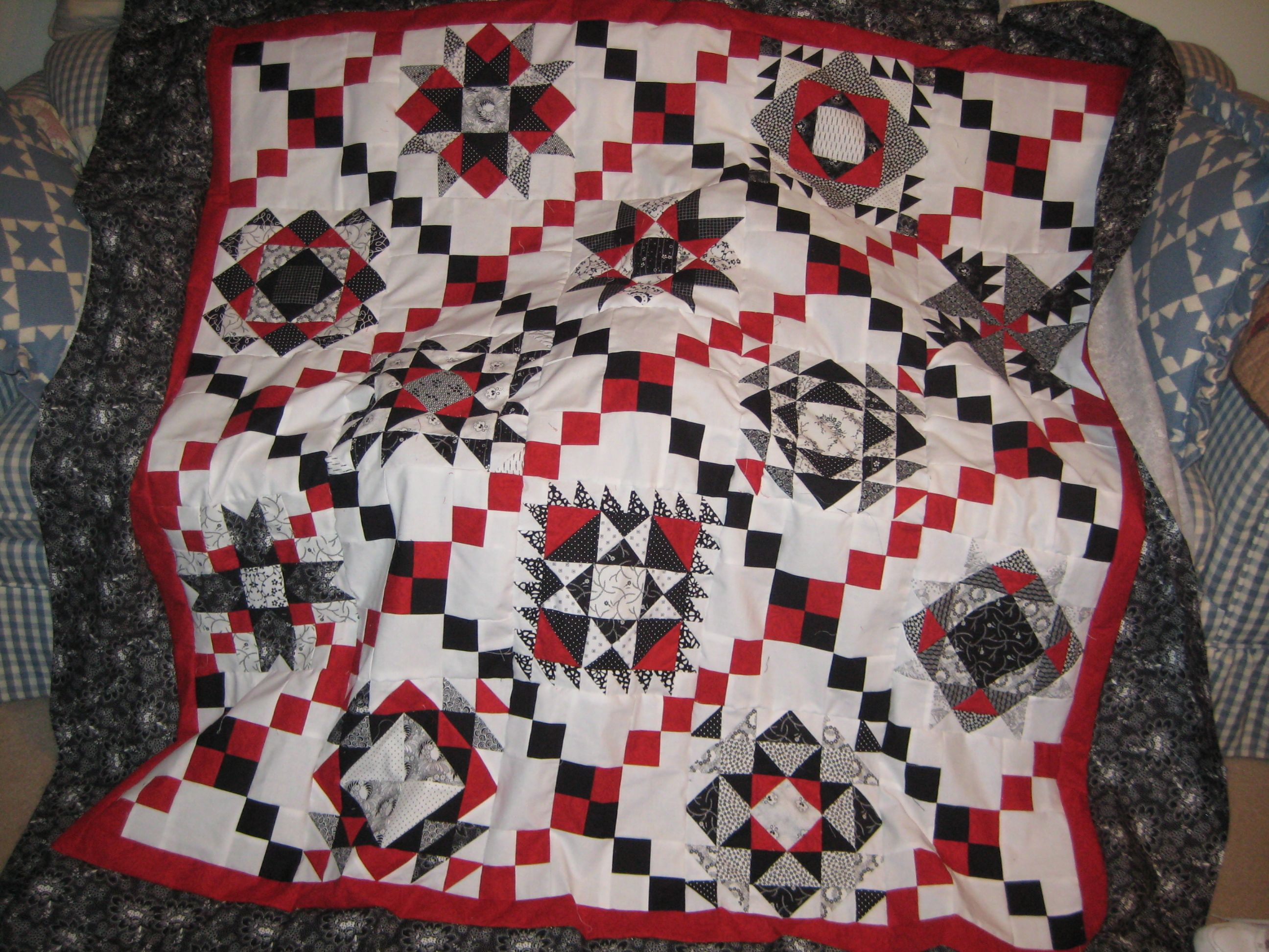 A block of the month quilt from my local quilt shop.   quilts ... : local quilt shops - Adamdwight.com