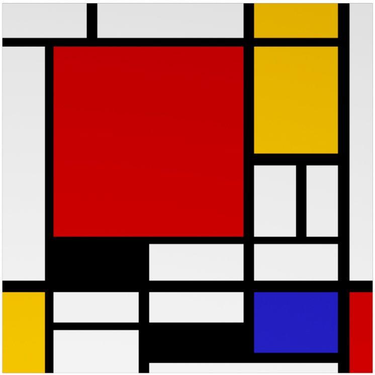 bauhaus art Google Search Mondrian art, Bauhaus