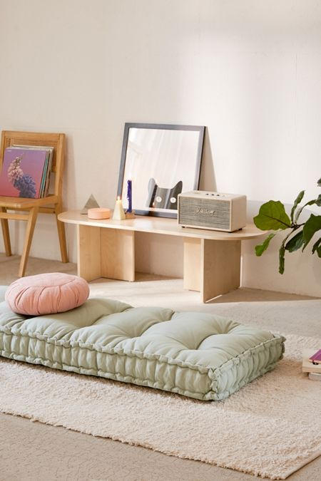Dorm Room College Essentials Urban Outfitters Daybed Cushion Floor Pillows Furniture