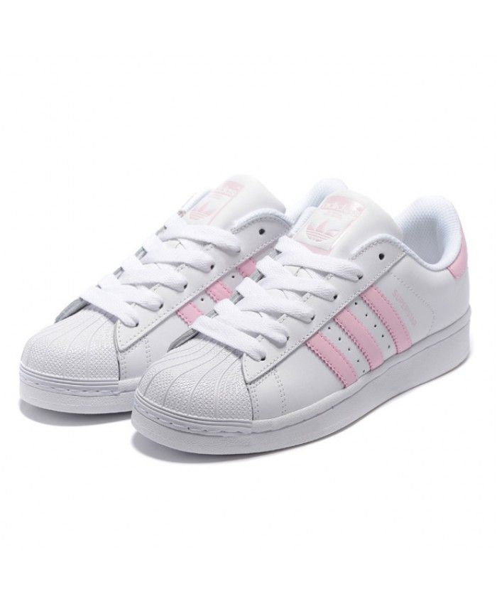 adidas superstar pink and white, OFF 78