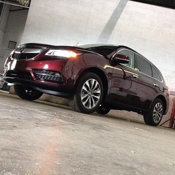 Made For The Modern Age. #2014 #acura #mdx #mdxlove