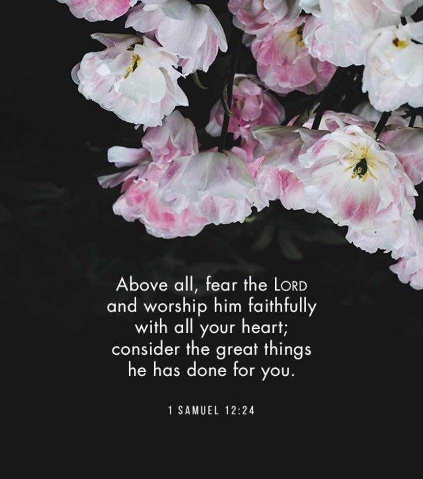 Fear the lord does not mean to be afraid of him it means