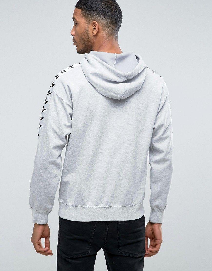 adidas Originals TNT Tape Hoodie | Gul | Luvtröjor | BS4669