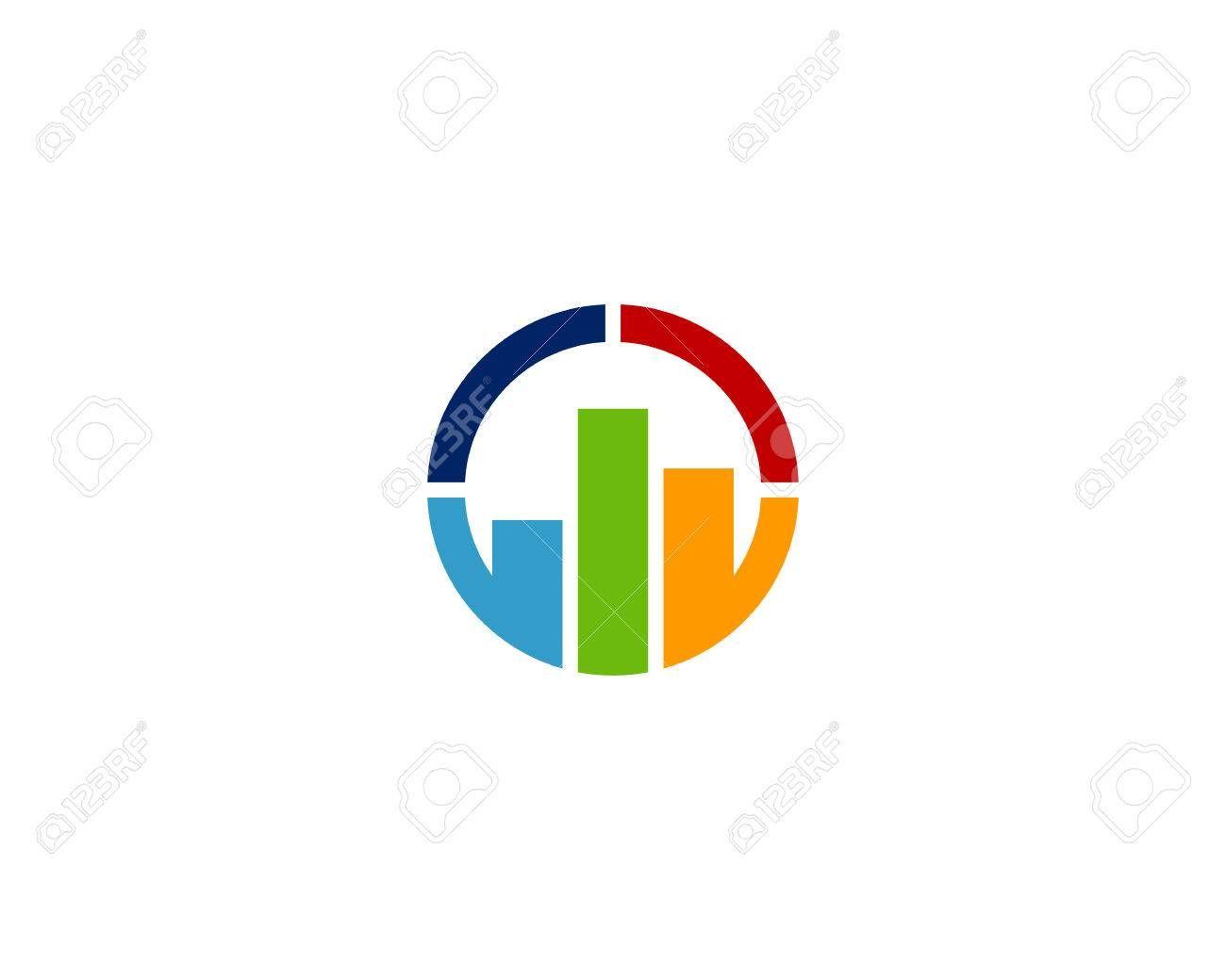 Report Icon Logo Design Element Illustration Affiliate Logo