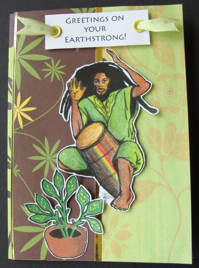 Rastaman binghi birthday card 450 gifts pinterest birthdays rastaman binghi birthday card bookmarktalkfo Image collections