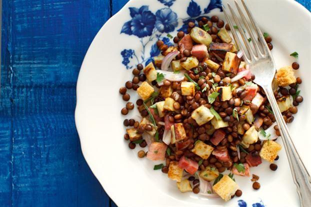 Ensalada de lentejas con crotones revistamaru comidas ensalada de lentejas con crotones revistamaru forumfinder Image collections
