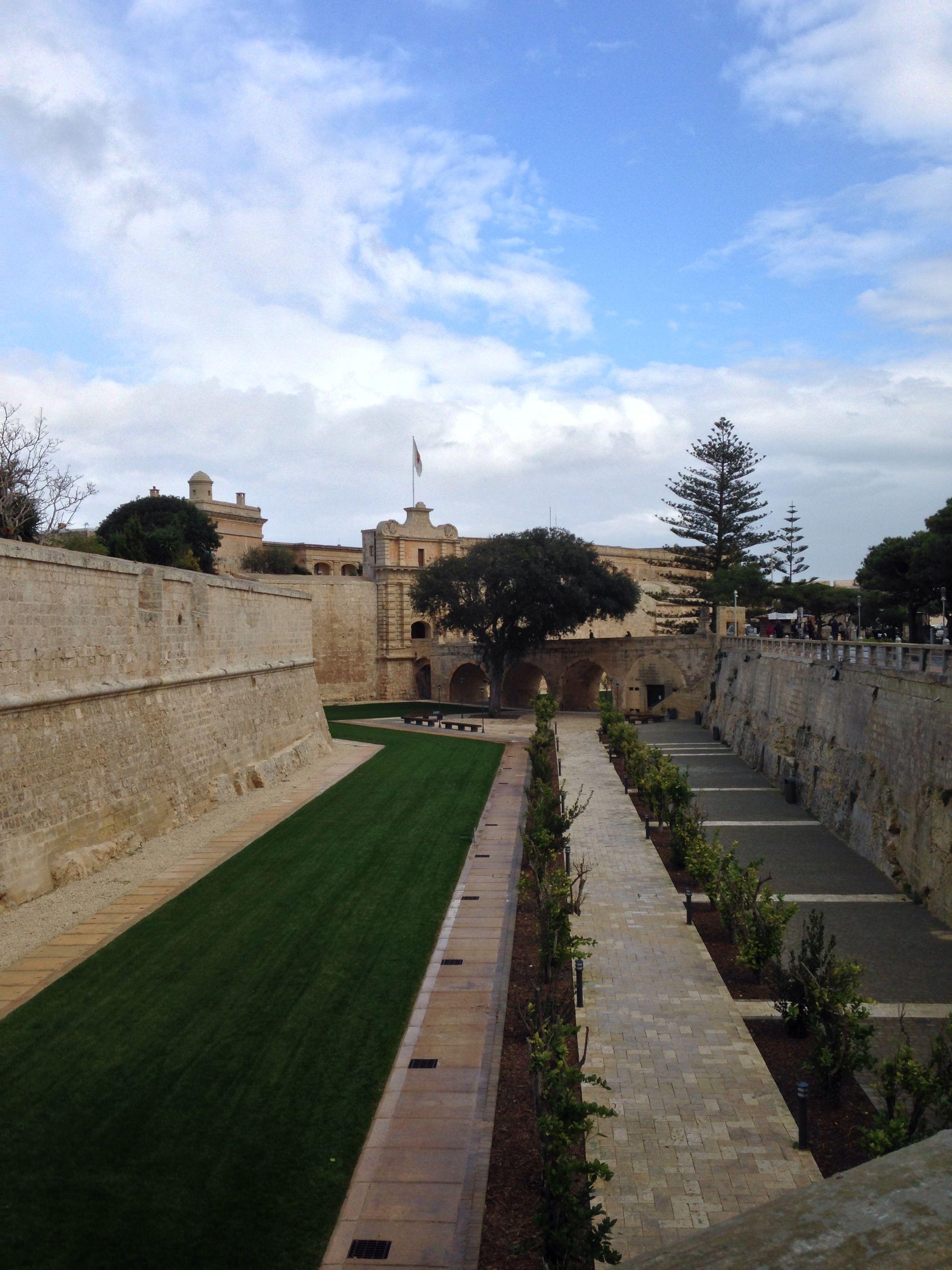 Walking through Medina, Malta