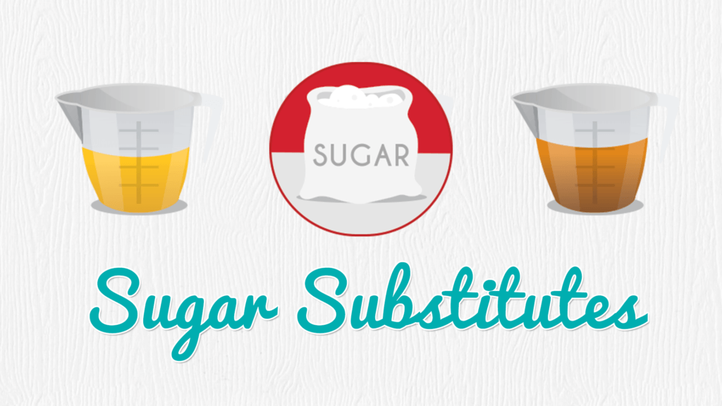 Sugar Substitutes, Sugar Substitutions, How to Substitute Sugar in your Baking