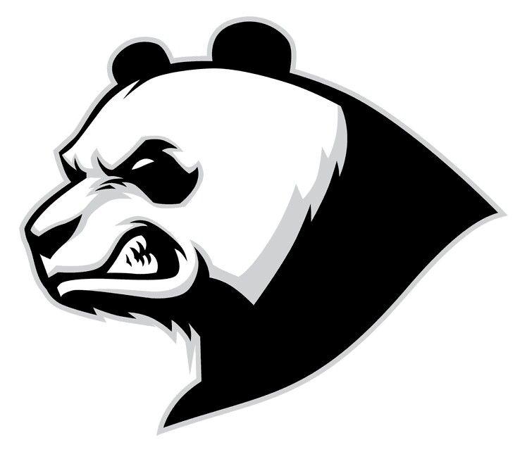 Mad Panda Bad Panda Logo Sport Binatang Ilustrasi Grafis Seni 3d