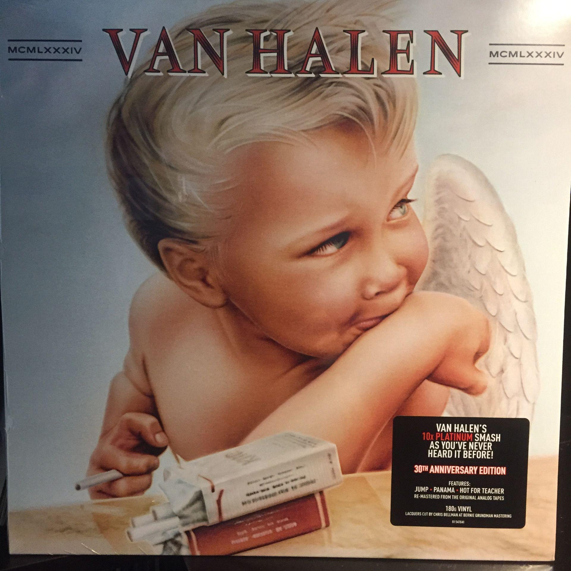 31b4b3bee19 VAN HALEN--1984--NEW!! 30th Anniversary Edition--Remastered ...