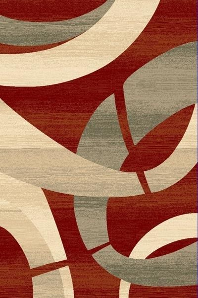 Modern Sculpture Area Rug Made in Turkey carved by hand for a sculptured 3D look