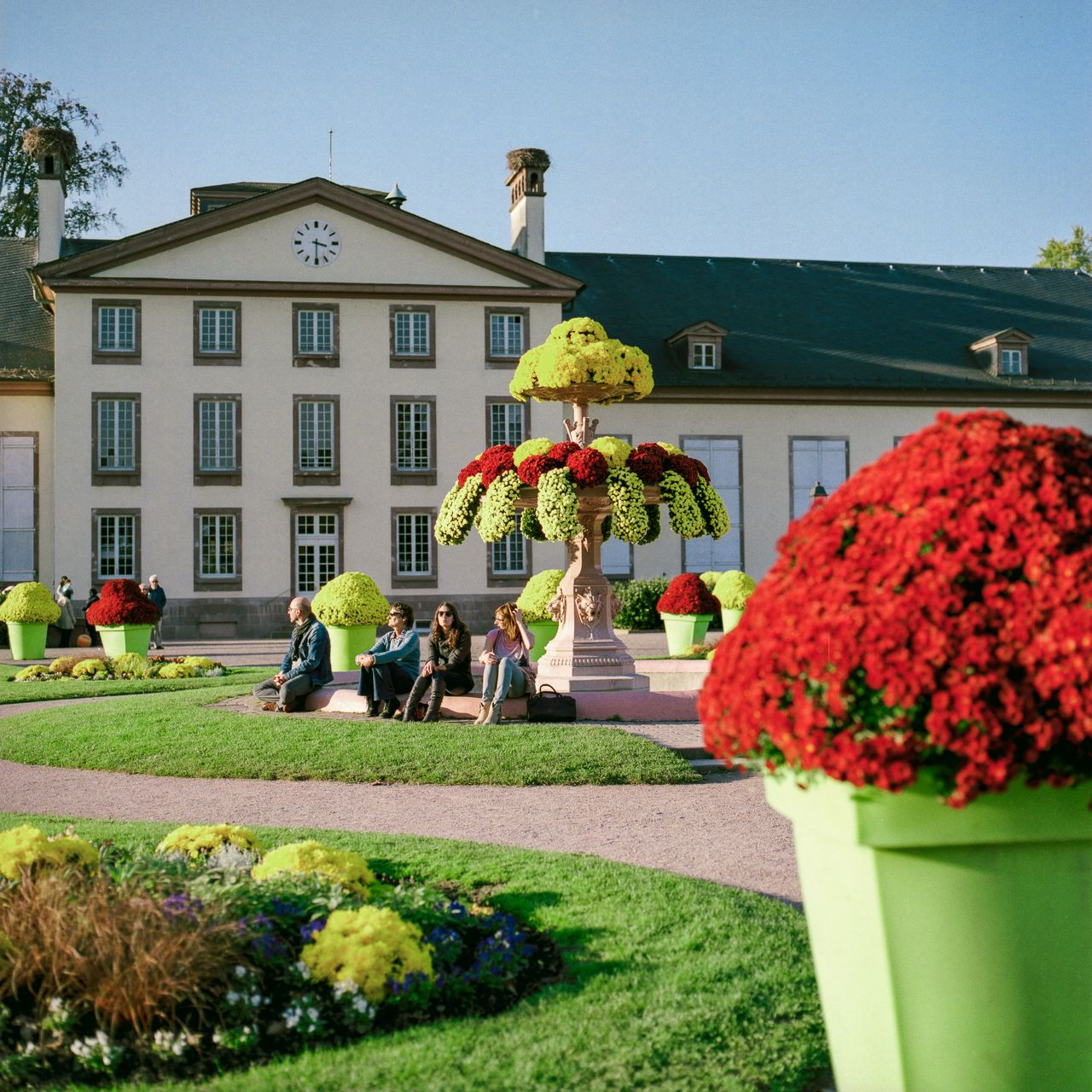 Parc de l'Orangerie - Strasbourg, France