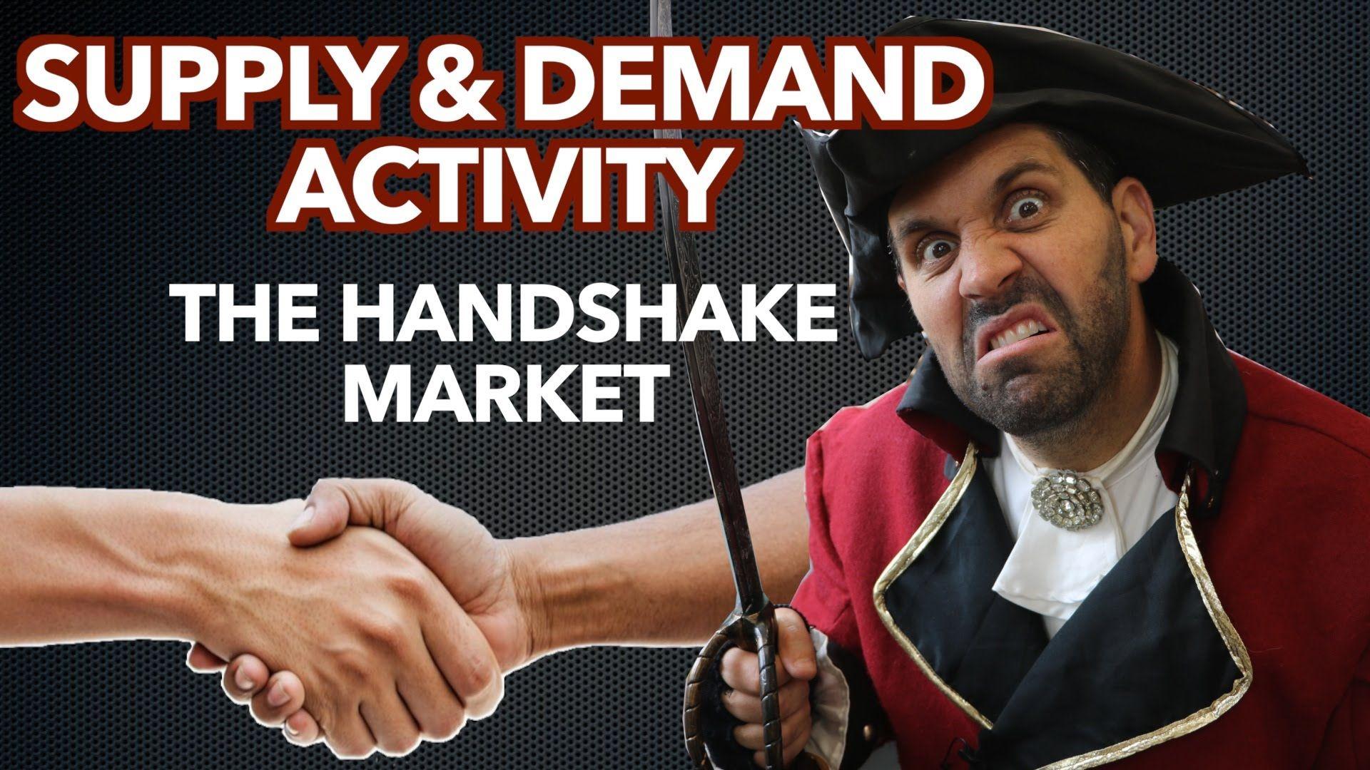 The Handshake Market Supply Amp Demand Activity
