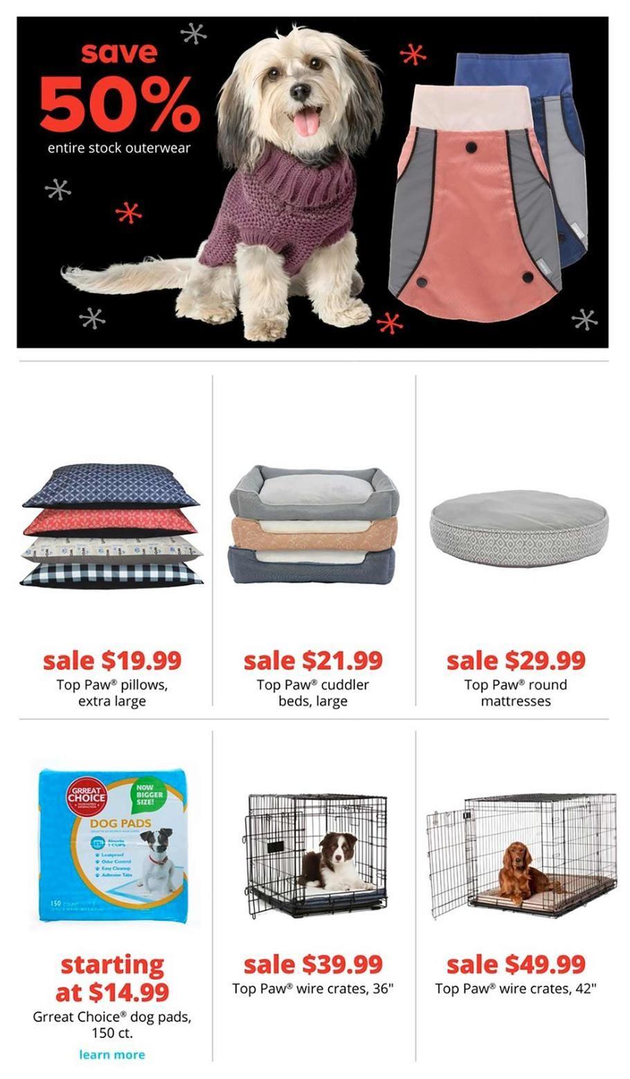 Petsmart Black Friday Ad Scan Deals And Sales 2019 Page 5 Of 10 Dog Pads Black Friday Ads Petsmart