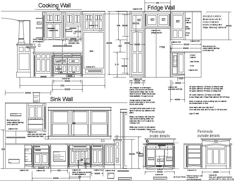 Kitchen Cabinet Woodworking Plans Pdf