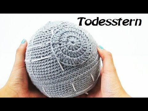 Häkeln Death Star Star Wars Todesstern für Star Wars Fans - YouTube ...