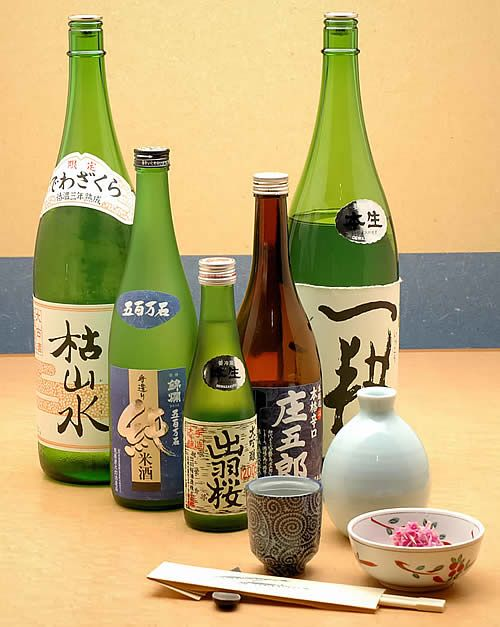 Try Japanese Sake (and understand all the differences)