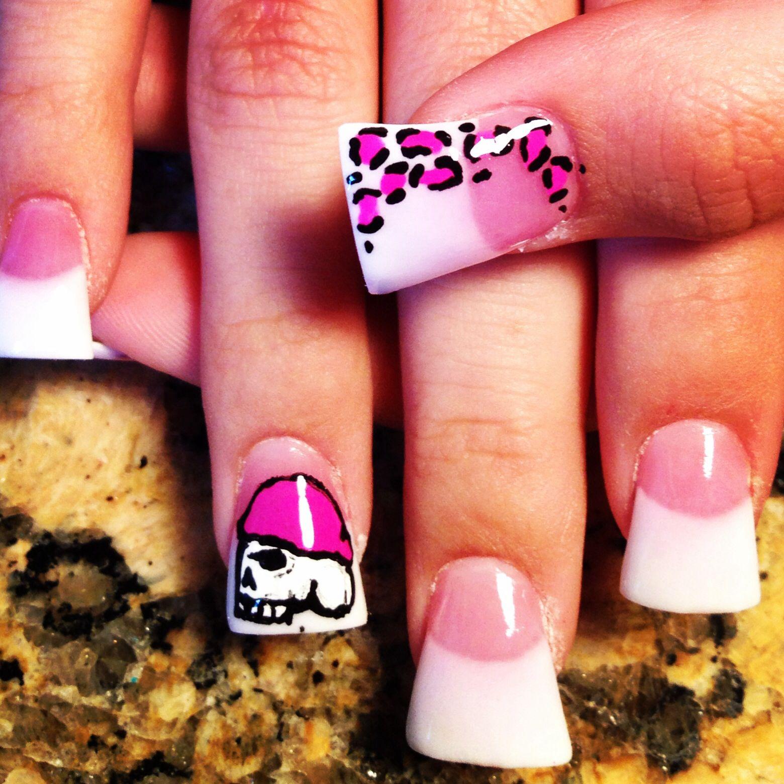 Metal mulisha nails | nails | Pinterest