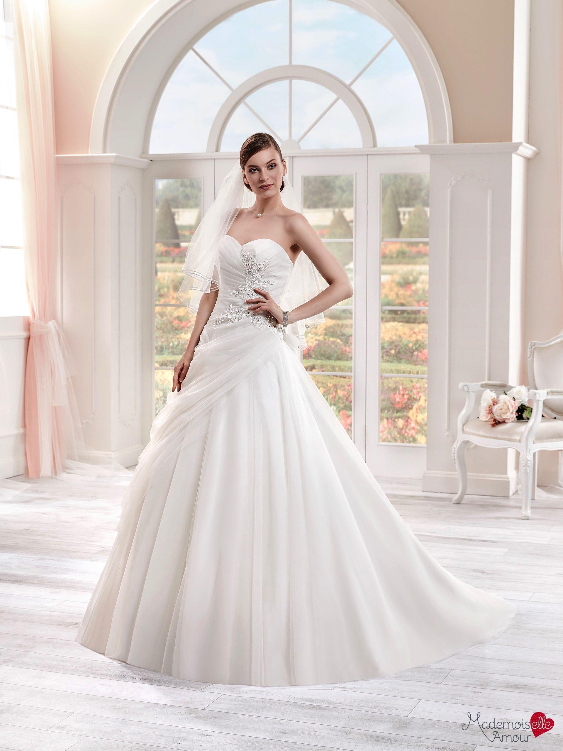 Robe de mariée Mlle Tulle, robe de mariée princesse, robe de mariage traîne…