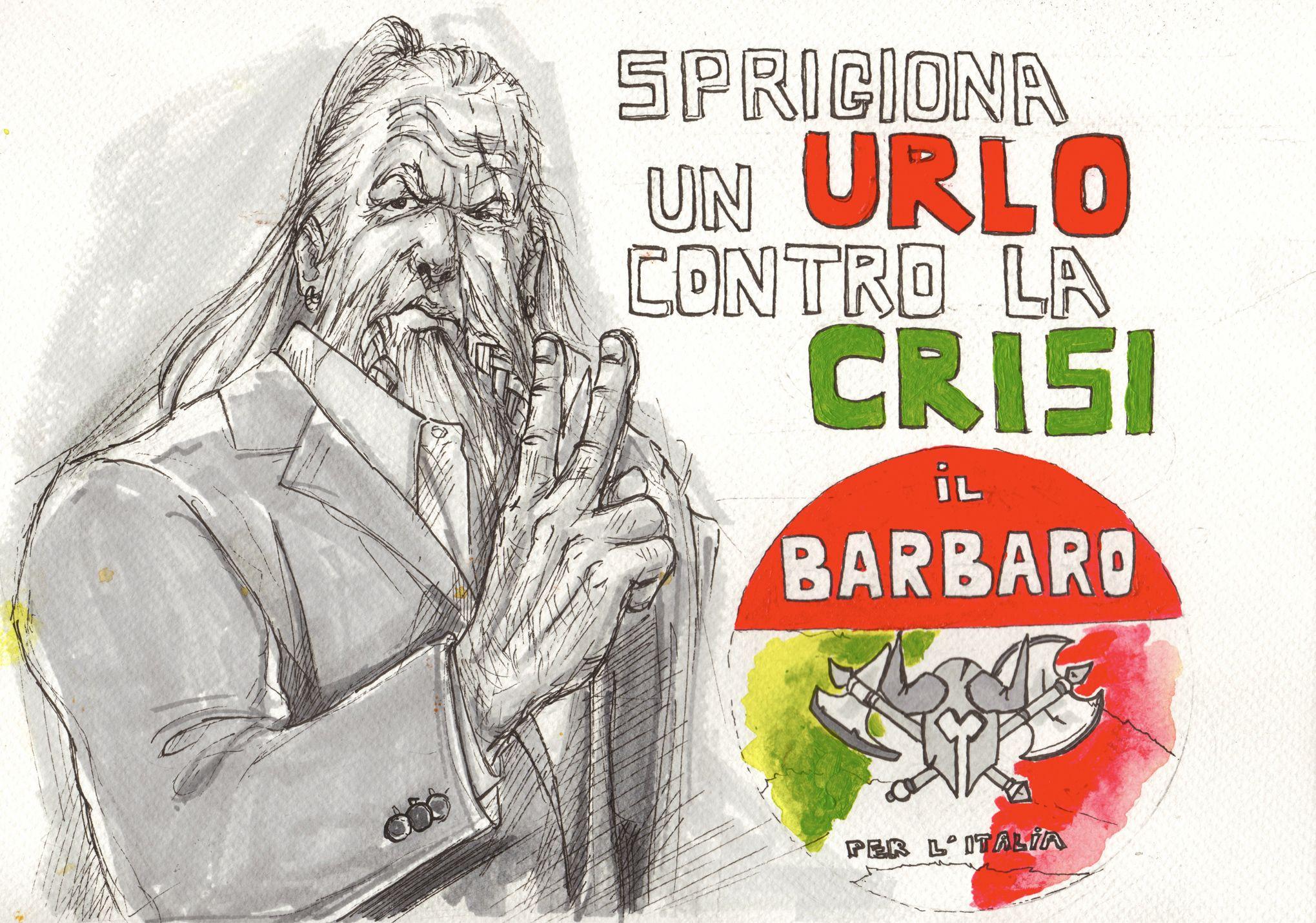 Diablo 3 Vote for the Barb