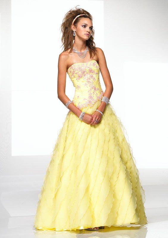 Nice Prom Dresses yellow dresses | Joli Prom Dresses - Yellow Prom ...