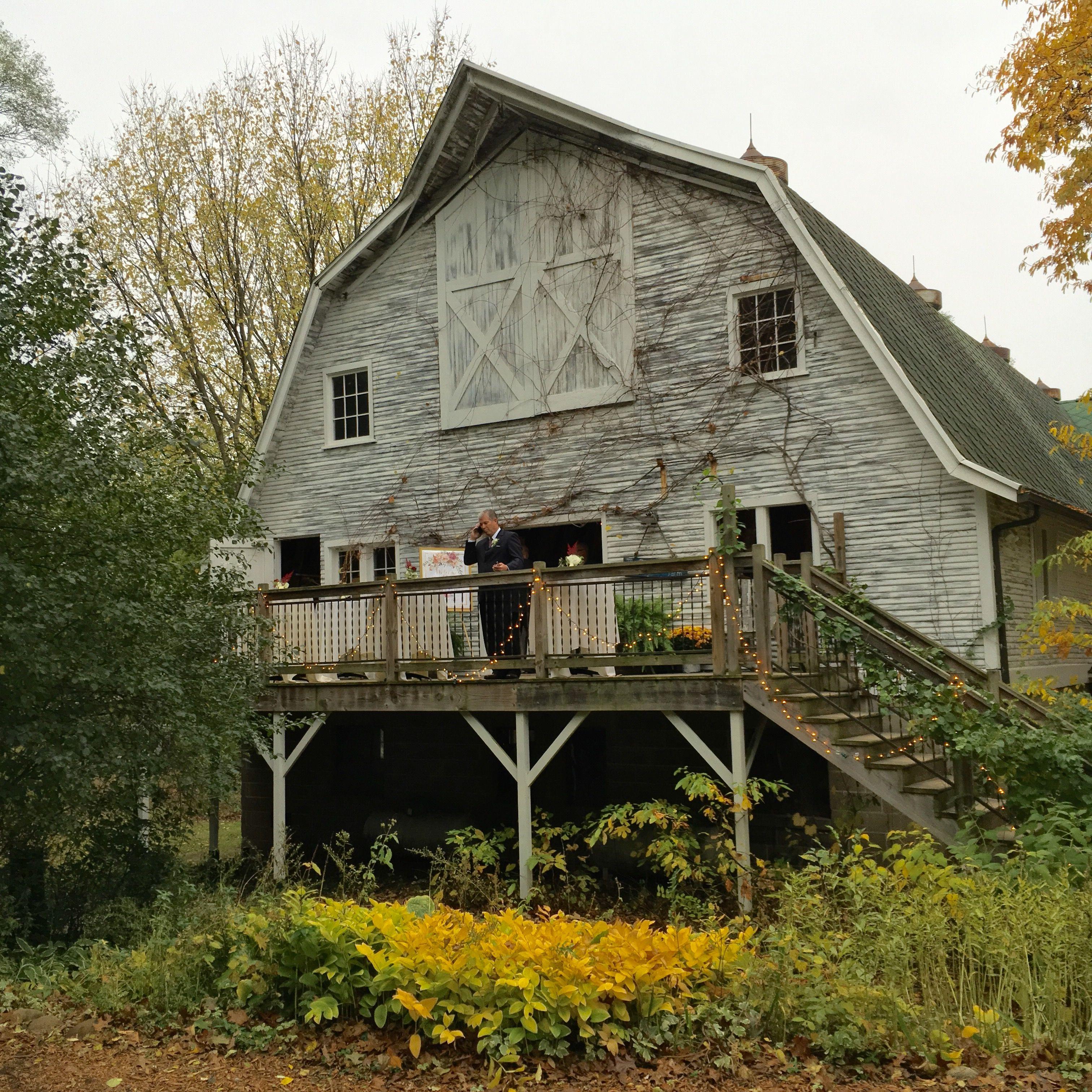 Blue dress barn. Wedding barn in southwest Michigan