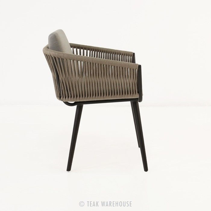rope outdoor dining chair dining