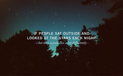 i loooovvveee star gazing on the beach quotes picture