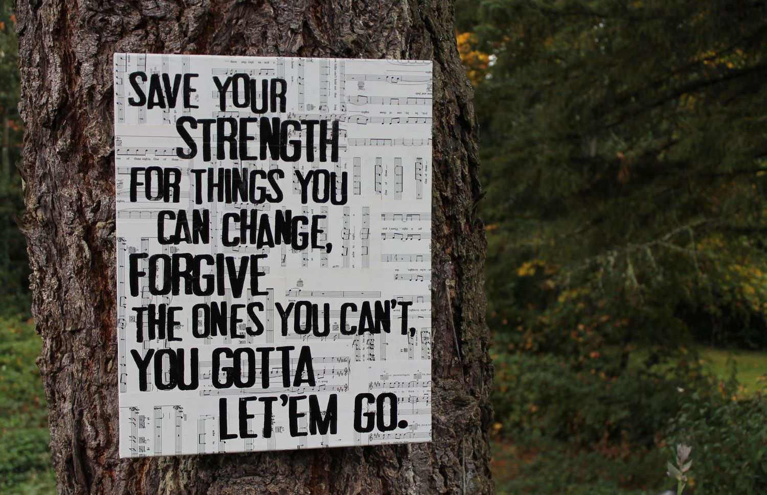 16x20 Let It Go By Zac Brown Band Vintage Sheet Music Canvas 45 00 Via Etsy Zac Brown Band Love Me Quotes Little Things Quotes