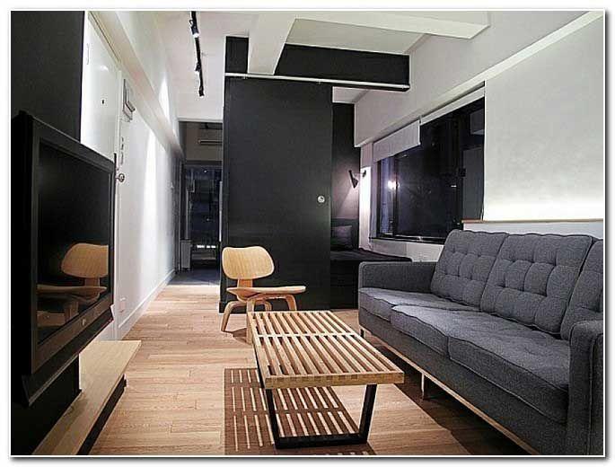 Glasbilder Wohnzimmer ~ Bilder kleines wohnzimmer einrichten schlicht holzboden bungalow