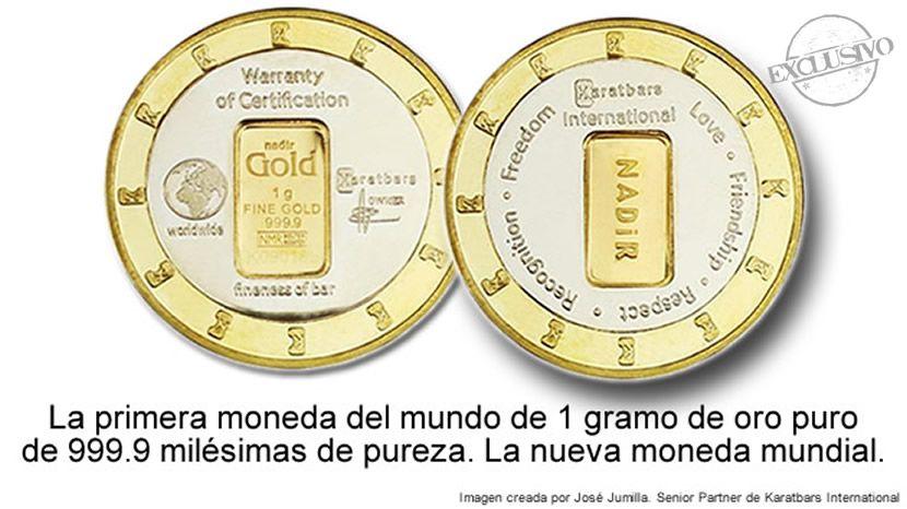 Nueva Moneda Mundial De Oro Karatbars Monedas Lingotes De Oro Oro