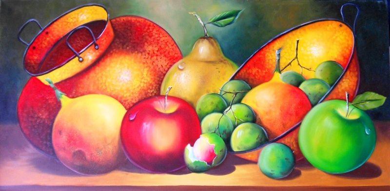 cuadros de frutas para comedor decorativas | Carmen Sofia ...