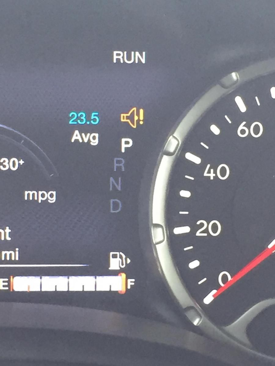 Awesome Jeep Renegade Warning Lights