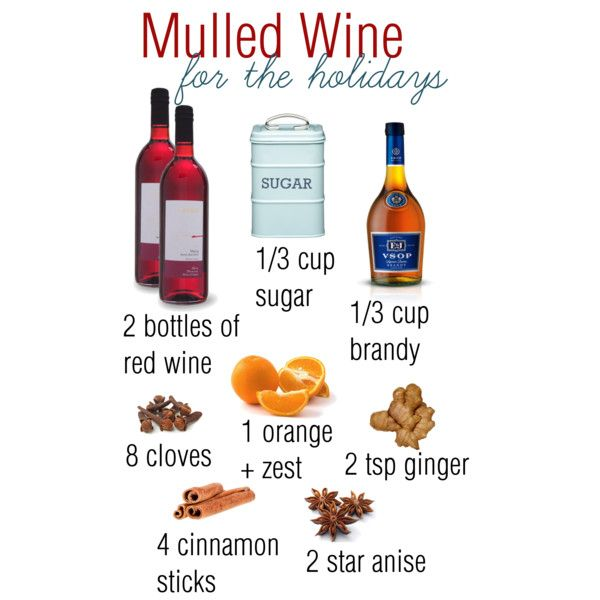 Christmas Drinks, Mulled Wine Recipe