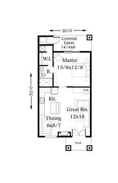 M 640 Main Floor Rev Cottage Floor Plans Tiny Cottage Floor Plans House Plans With Photos