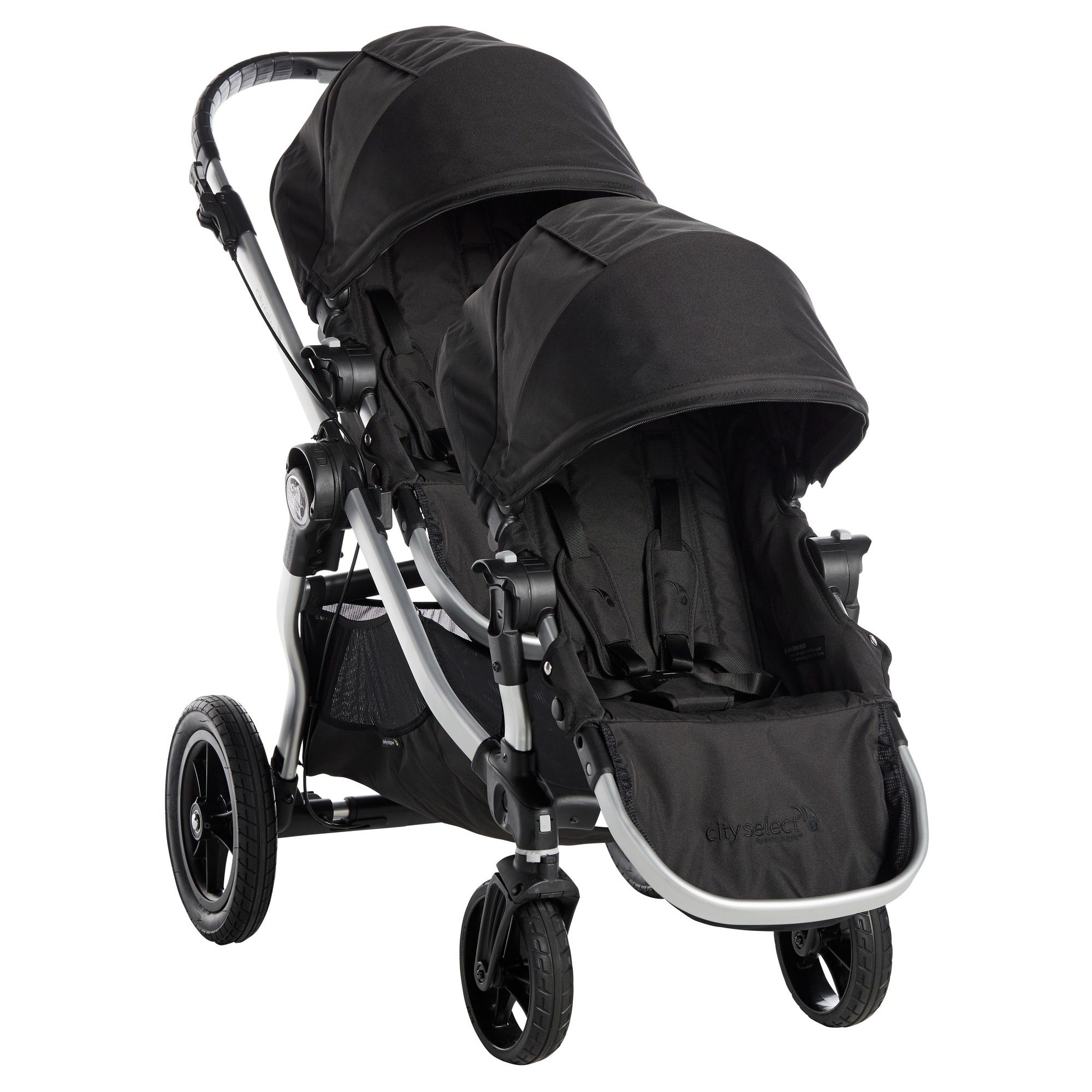 Baby Jogger City Select Stroller with Second Seat Onyx