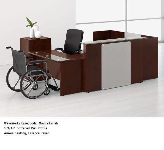 Astounding National Office Furniture Waveworks Ada Reception Bralicious Painted Fabric Chair Ideas Braliciousco