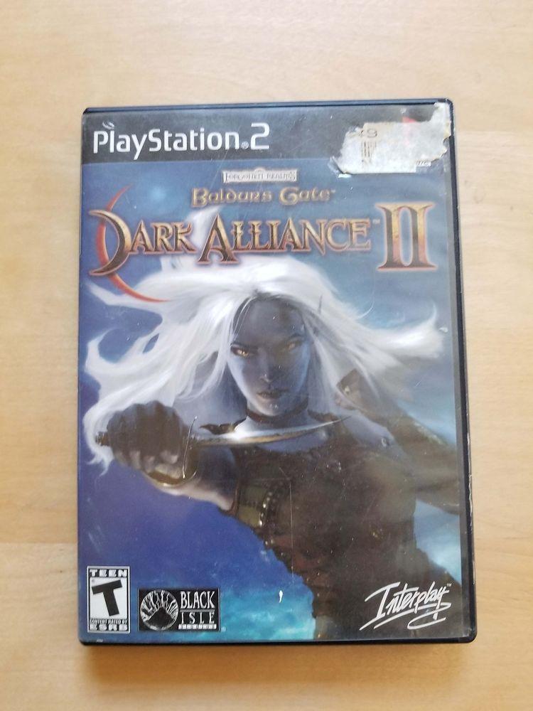 Baldur S Gate Dark Alliance 2 Ps2 Complete Playstation 2