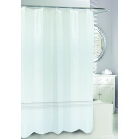 Moda At Home 3d Eva Peva Clear Geometric Shower Curtain 71 In X 71