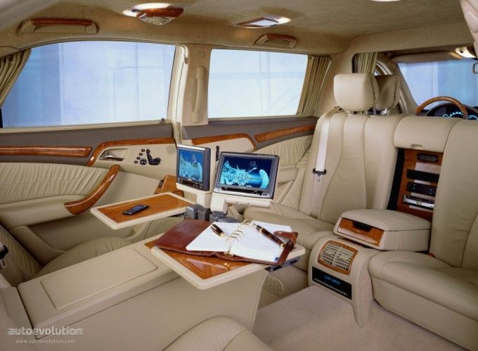 Mercedes Benz S Klasse Pullman V220 2001 2002 Luxury Car Interior Best Luxury Cars Luxury Cars