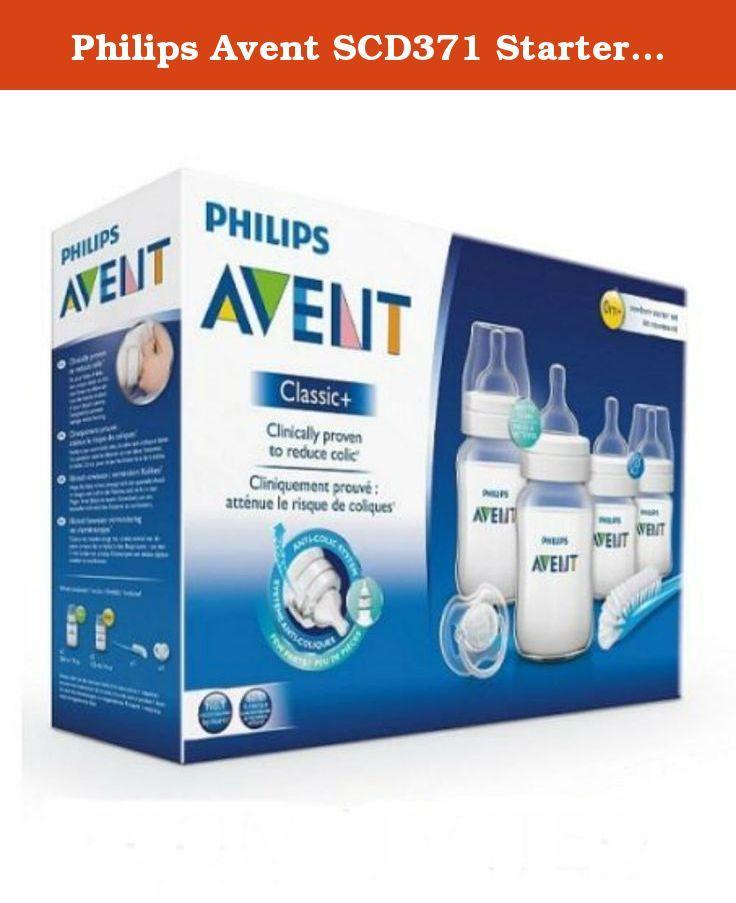 Philips Avent SCD371 Newborn baby Bottle Kit 4 bottles Starter Set Classic