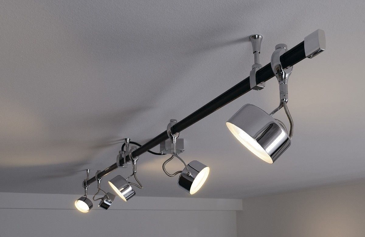 Modern Track Lighting Finished In A