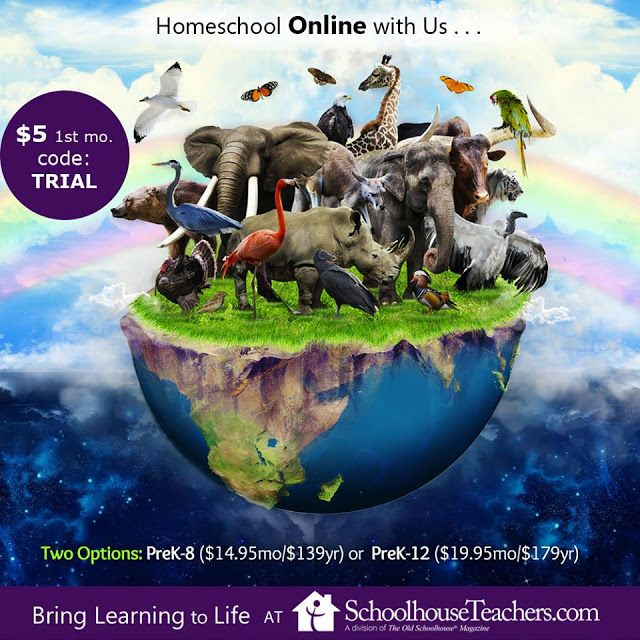 JustAddCoffee- The Homeschool Coupon Mom : Try SchoolhouseTeachers.com For ONLY $5! {Unlimite...